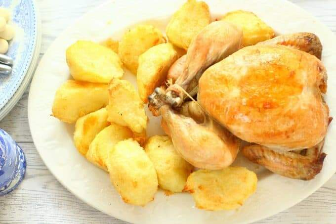 Slow Cooker Roast Chicken from Apply to Face Blog